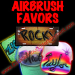 airbrush favors