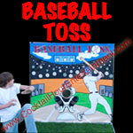 baseball toss carnival game