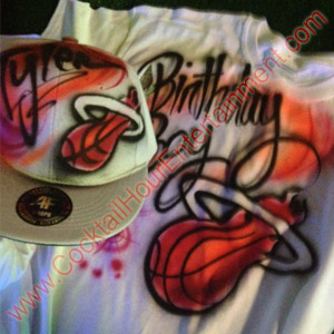 bar mitzvah airbrush sample miami heat