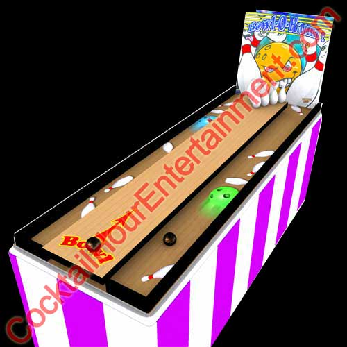 mini bowling carnival game