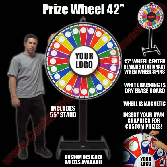 Bat Mitzvah Prize Wheels